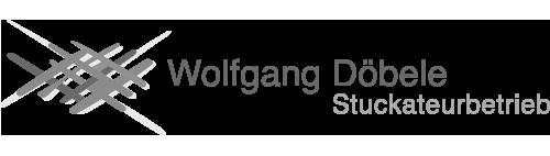 Logo von Wolfgang Döbele Stuckateurbetrieb